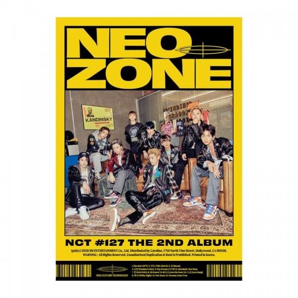 NCT127 - 2nd Album No127 Neo Zone