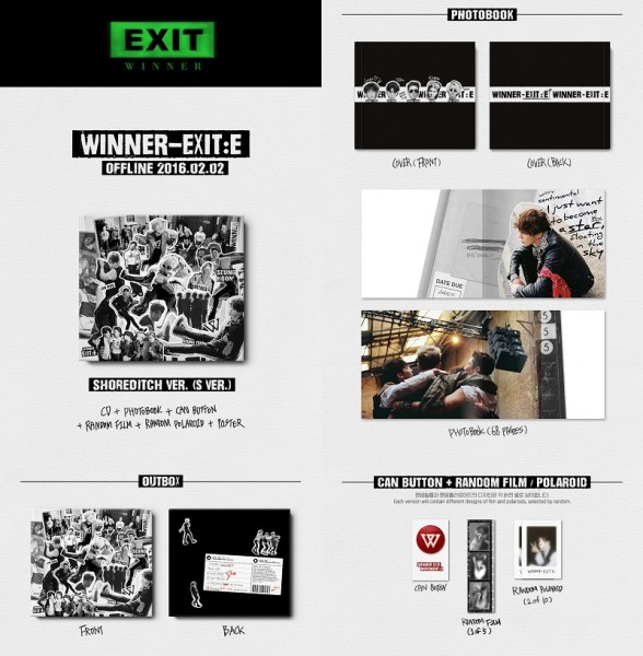 WINNER - Exit:e (SHOREDITCH Ver.)