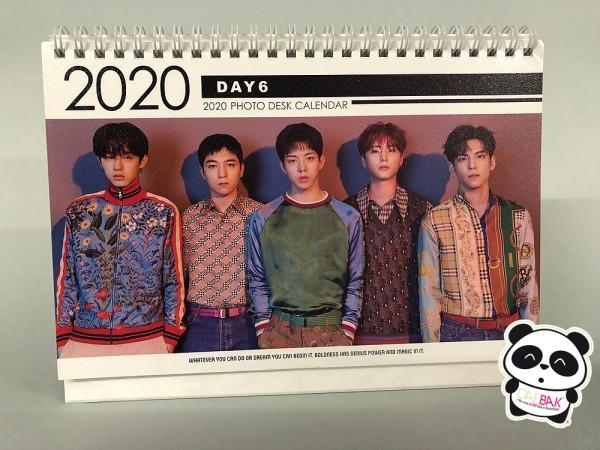 DAY6 - Tischkalender 2020 / 2021
