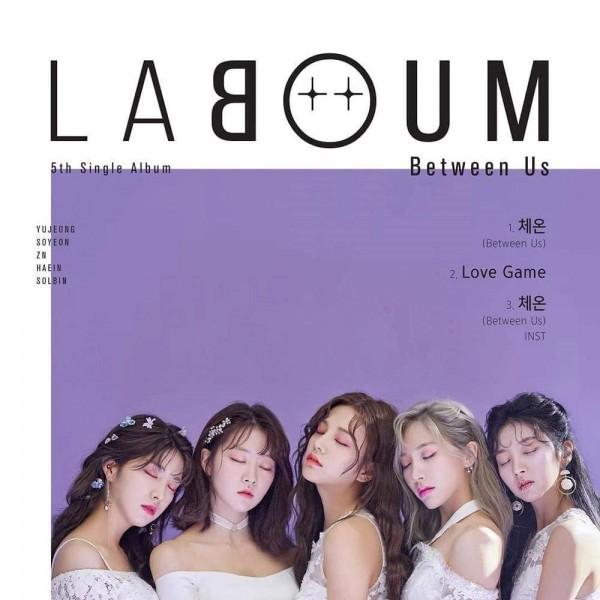 LABOUM 5th Single Album - Between Us
