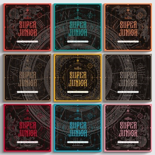 SUPER JUNIOR - THE RENAISSANCE [Square Style]