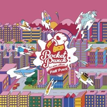 ROCKET PUNCH 1st Mini Album - PINK PUNCH