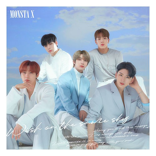 MONSTA X - Wish On The Same Sky Japanese Single Album