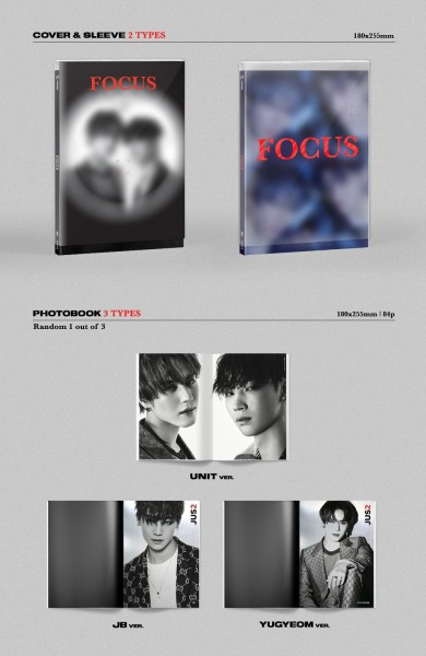 Jus2 Mini Album - FOCUS