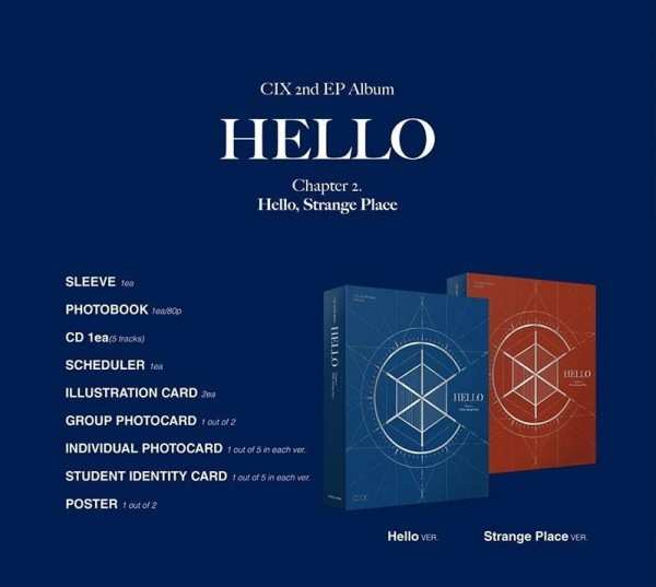 CIX EP Vol.2 - HELLO CHAPTER 2
