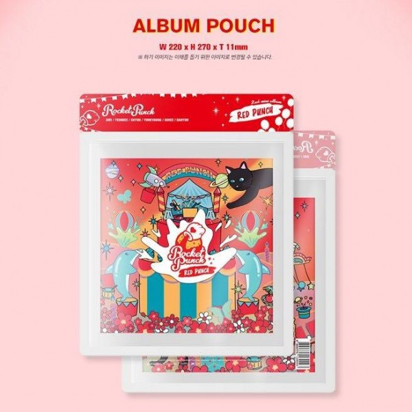 ROCKET PUNCH 2nd Mini Album - RED PUNCH