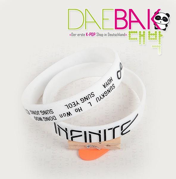 Infinite - Armband (weiß)