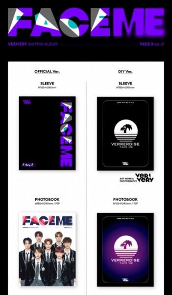 VERIVERY Mini Album Vol. 3 - FACE ME