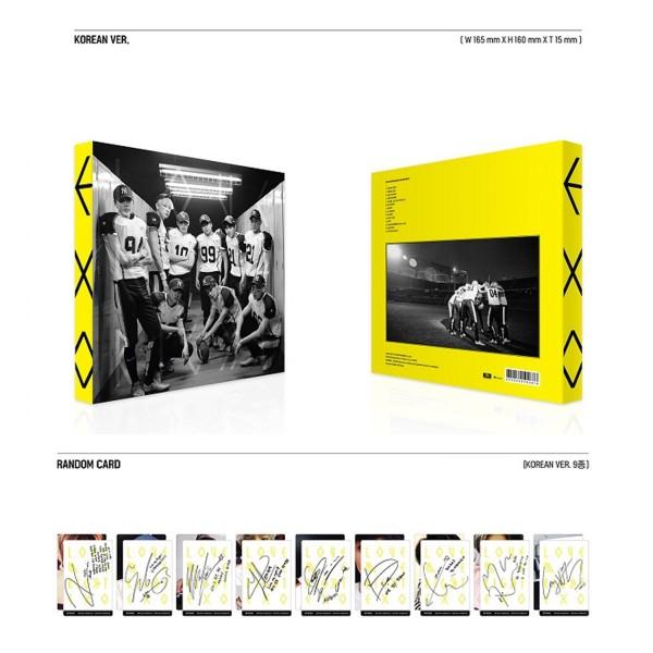 EXO Vol. 2 Repackage - Love Me Right (Korean Ver.)