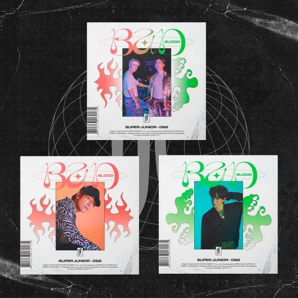 Super Junior - D&E Mini Album Vol. 4 - BAD BLOOD