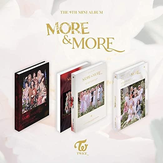 TWICE - More & More 9th Mini Album