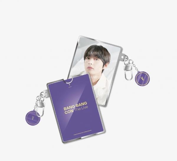 BTS - Bang Bang Con Photo Card Holder Keyring