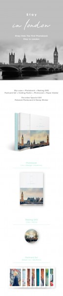 Stray Kids - 1st Photobook [Stay in London] (Last in Stock!)