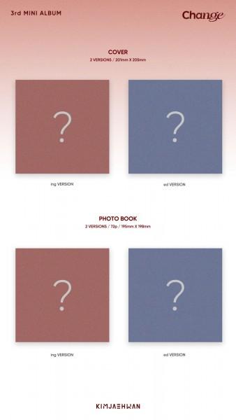 Kim Jae Hwan Mini Album Vol. 3 - Change