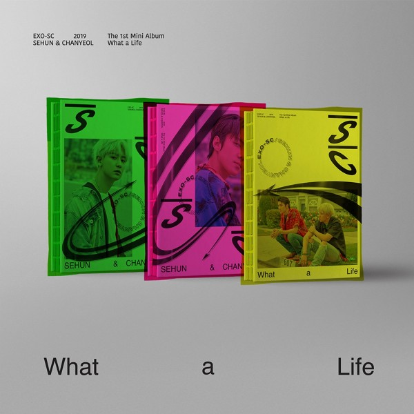 EXO-SC 1st Mini Album - What a life