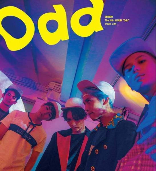 SHINee 4th Album - ODD (A Version)
