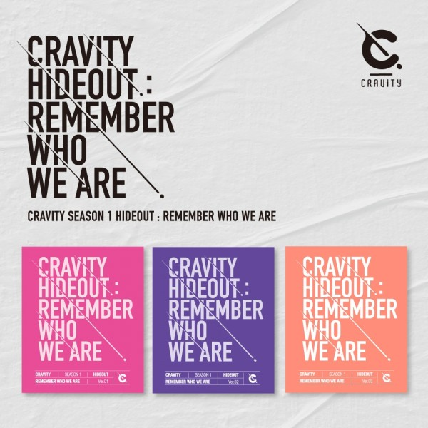 CRAVITY SEASON1 - HIDEOUT: REMEMBER WHO WE ARE