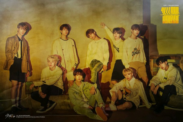 Stray Kids - Yellow Wood Poster