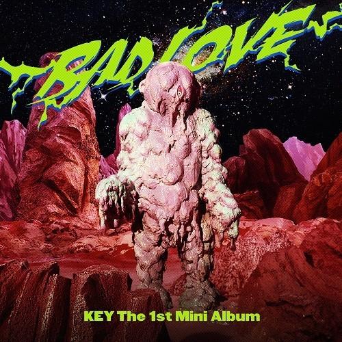 KEY - BAD LOVE 1st Mini Album [PhotoBook A Ver.]