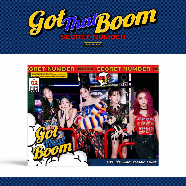 SECRET NUMBER Single Album Vol. 2 - Got That Boom
