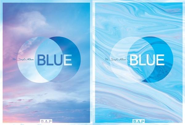 B.A.P - 7th Single Album - BLUE (B Version)