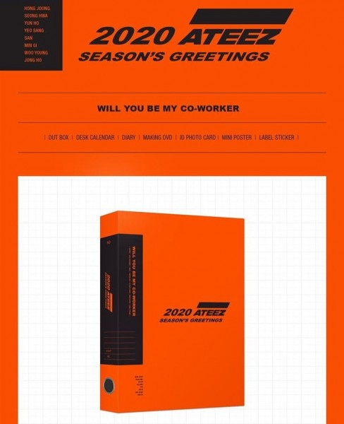 Ateez 2020 SEASON'S GREETINGS