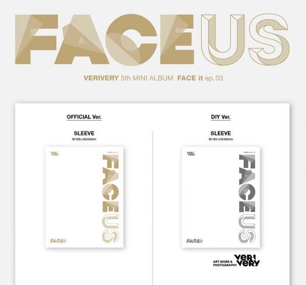 VERIVERY Mini Album Vol. 5 - FACE US (EP.3)