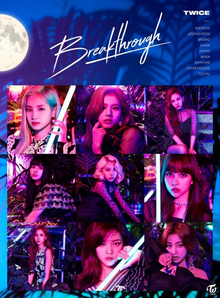 Twice 5th Japanese Single Breakthrough [Limited Edition / Type B]