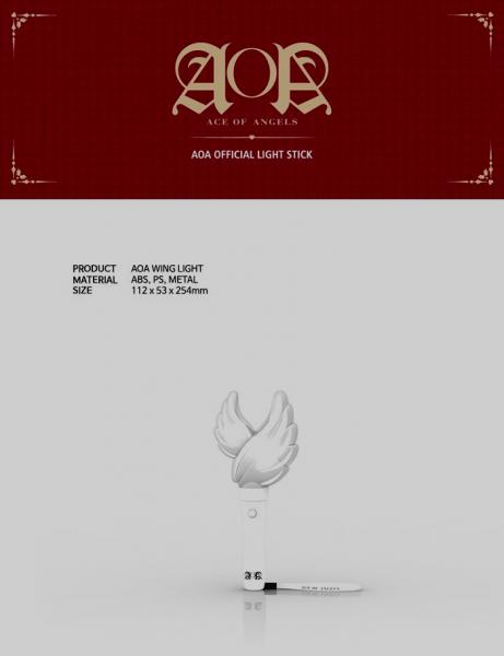 AOA - Official Light Stick [AOA WING LIGHT]