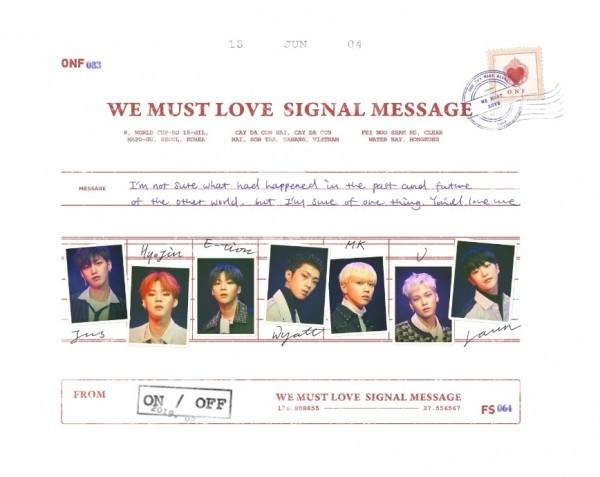 ONF 3rd Mini Album - WE MUST LOVE