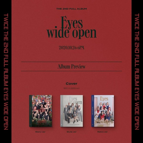 Twice - 2nd Full Album Eyes Wide Open