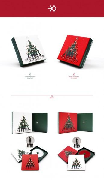 EXO - MIRACLES IN DECEMBER - KOREAN VER
