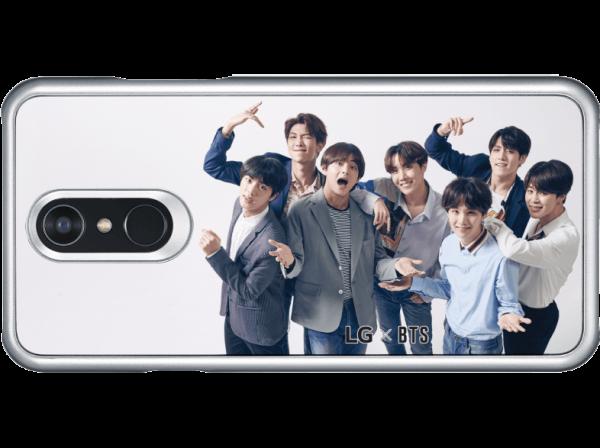 BTS - 3D Handyhülle - LG Q7