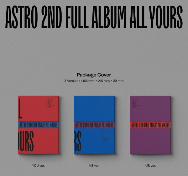 ASTRO - ALL YOURS 2ND FULL ALBUM
