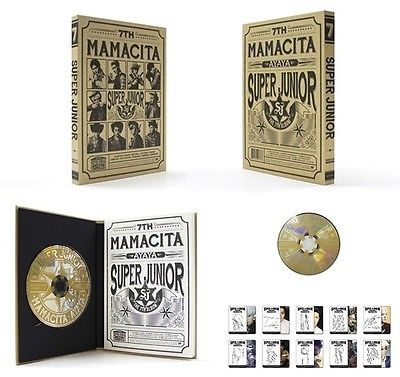 SUPER JUNIOR 7th album MAMACITA Vol.7- B Ver
