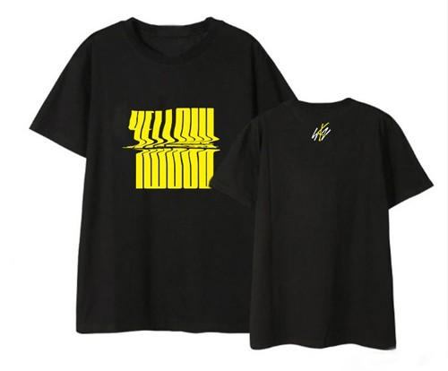 Stray Kids - T-Shirt (YELLOW WOOD) (Size:L)