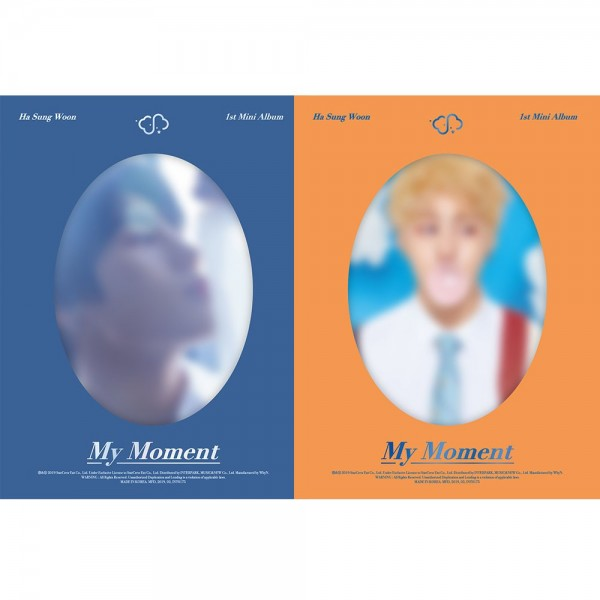 Ha Sung Woon 1st Mini Album - MY MOMENT