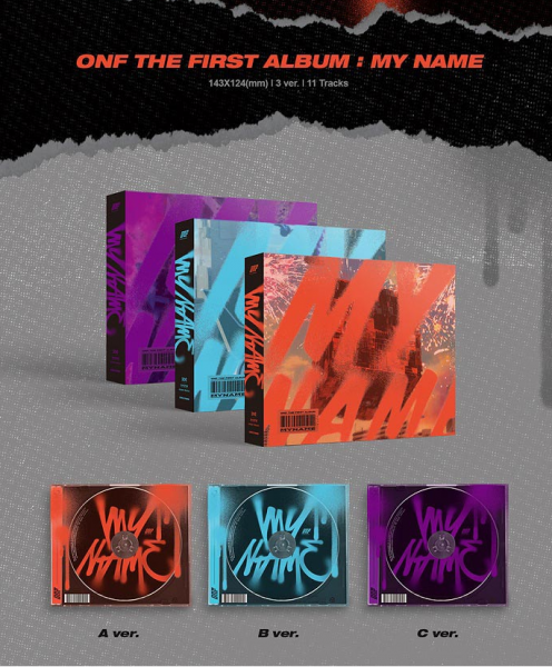 ONF Album Vol. 1 - ONF:MY NAME