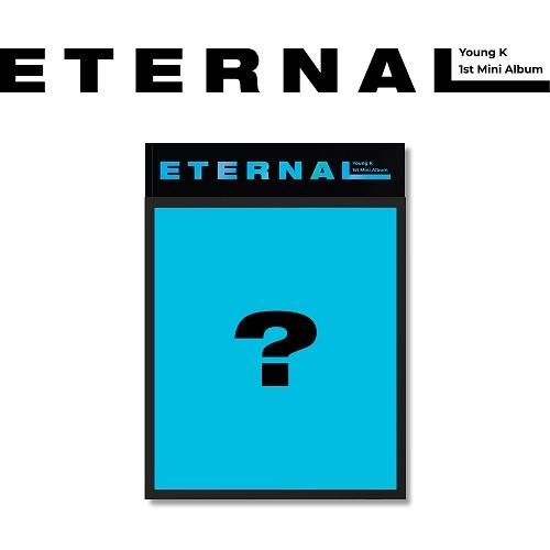 Young K - ETERNAL 1st Mini Album (Random Cover)