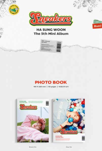 Ha Sung Woon Mini Album Vol. 5 - Sneakers