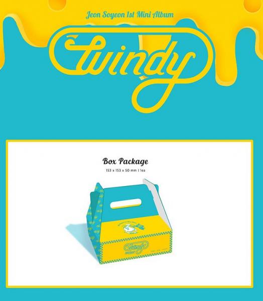 JEON SOYEON Mini Album Vol. 1 - Windy