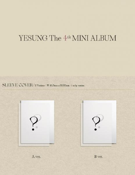 YESUNG - The 4th MINI ALBUM