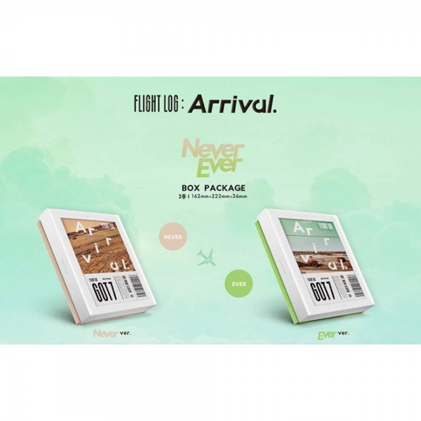 GOT7 - Flight Log: ARRIVAL 3rd Album