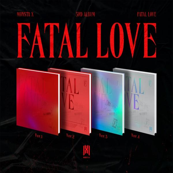 MONSTA X 3RD ALBUM FATAL LOVE