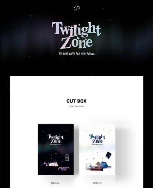 Ha Sung Woon Mini Album Vol. 3 - Twilight Zone