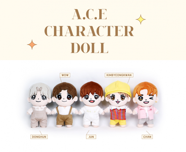 A.C.E - OFFICIAL CHARACTER DOLL