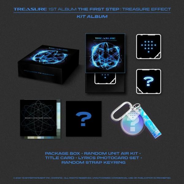 TREASURE 1st Album - THE FIRST STEP : TREASURE EFFECT Kihno Kit