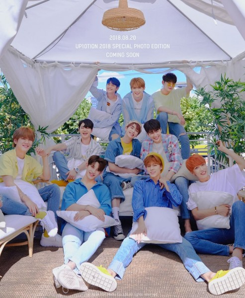 UP10TION - 2018 SPECIAL PHOTO EDITION Fotobuch