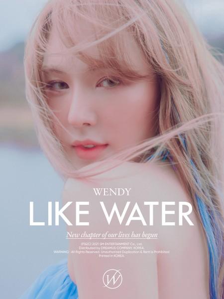 WENDY Mini Album Vol. 1 - Like Water (Case Vers.)
