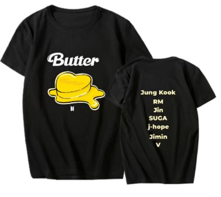 BTS - BUTTER T-Shirt (Size: L)